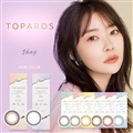 TOPARDS 1DAY トパーズワンデー 6箱セット 1箱10枚入 ポスト便 送料無料 1日使い捨て ワンデー カラーコンタクト UVカット 指原莉乃 さっしー